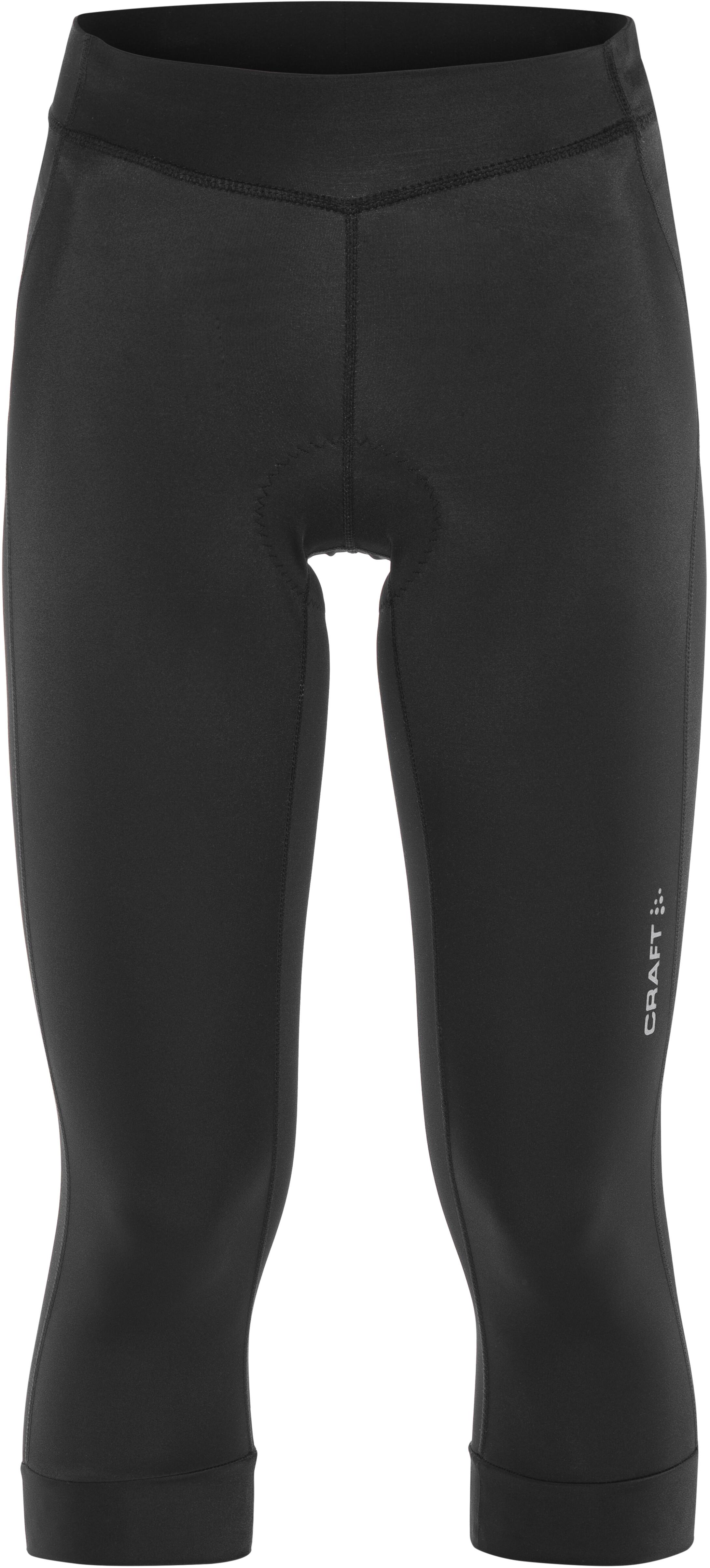 6f807f54 Craft Rise Sykkelbukse Dame black | Gode tilbud hos bikester.no